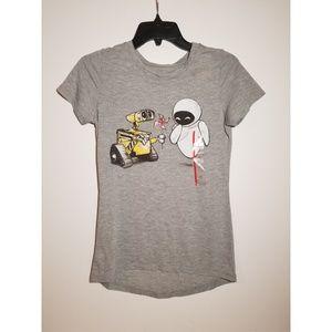 NWT Disney WALL-E and EVE Tee Shirt